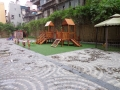 kid's playing ground